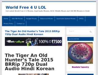 worldfree4uindia.com screenshot