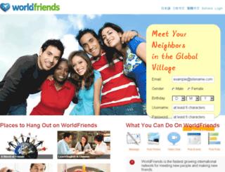 worldfriends.tv screenshot