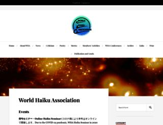 worldhaiku.net screenshot