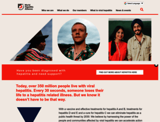 worldhepatitisalliance.org screenshot