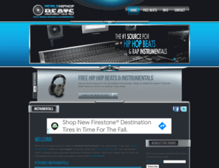 worldhiphopbeats.com screenshot