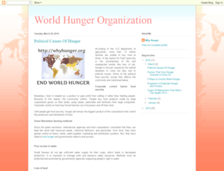 worldhungerorganization.blogspot.in screenshot