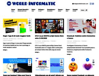 worldinformatic.com screenshot
