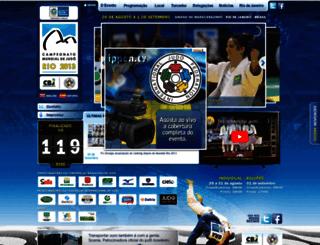 worldjudorio2013.com screenshot