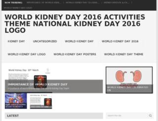 worldkidneyday2016.com screenshot
