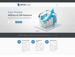 worldleads.com screenshot