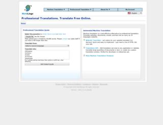worldlingo.com screenshot