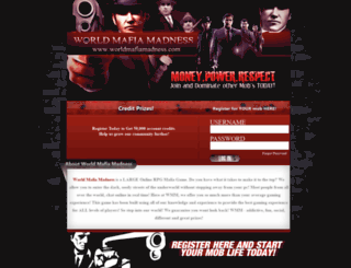 worldmafiamadness.com screenshot