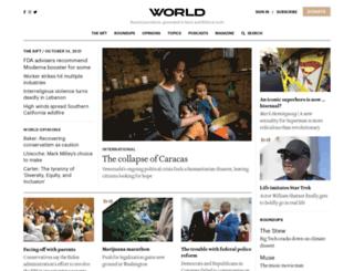 worldmag.com screenshot