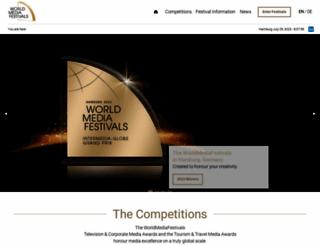 worldmediafestival.org screenshot