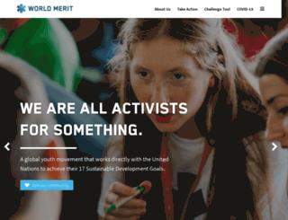 worldmerit.org screenshot