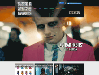 worldmusicawards.com screenshot