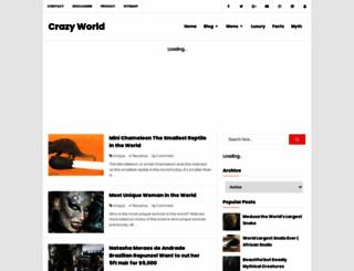 worldmustbecrazy.blogspot.com screenshot