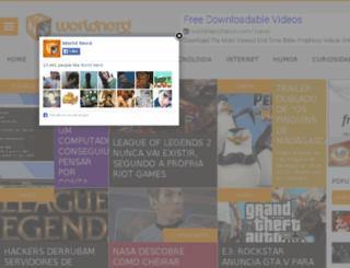 worldnerd.com.br screenshot