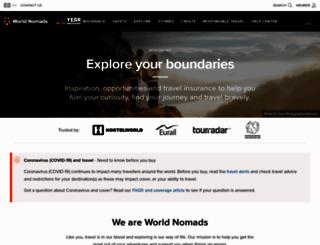 worldnomads.com screenshot