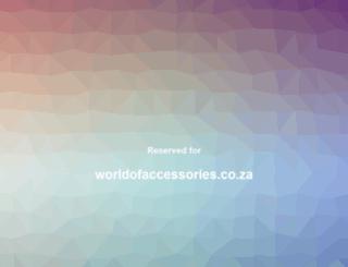 worldofaccessories.co.za screenshot