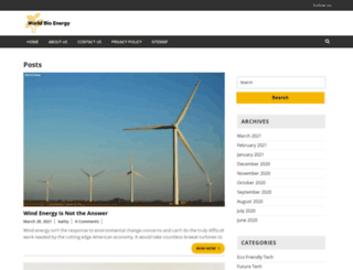 worldofbioenergy.com screenshot