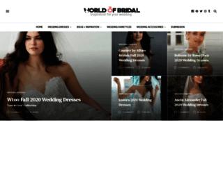 worldofbridal.com screenshot