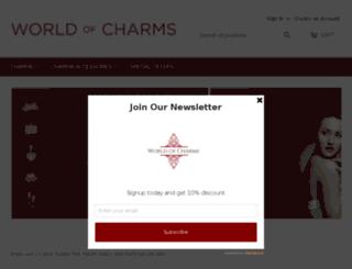 worldofcharms.com screenshot
