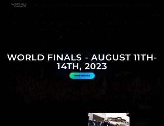 worldofdance.com screenshot
