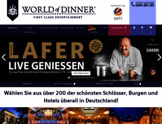 worldofdinner.de screenshot