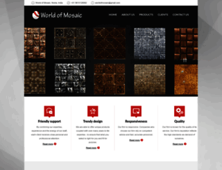 worldofmosaic.com screenshot