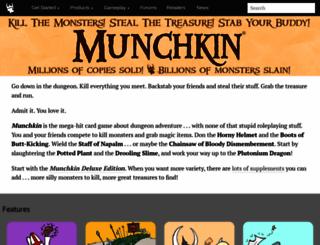 worldofmunchkin.com screenshot