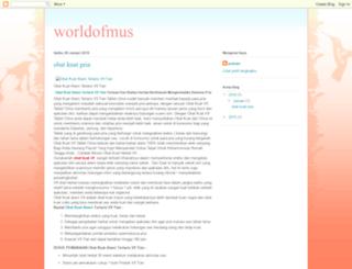 worldofmuss.blogspot.com screenshot