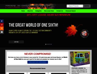 worldofonesixth.com screenshot