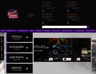worldofpowersports.com screenshot