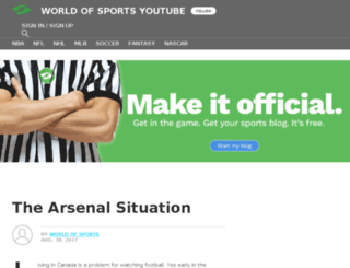 worldofsports.sportsblog.com screenshot