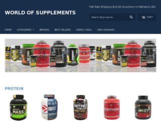 worldofsupplements.com screenshot