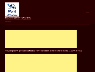 worldofteaching.com screenshot