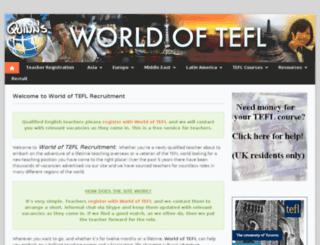 worldoftefl.com screenshot