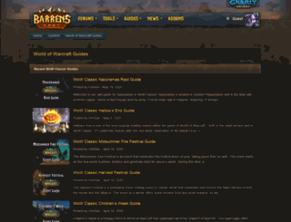 worldofwarcraftjunction.com screenshot