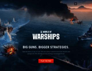 worldofwarships.com screenshot