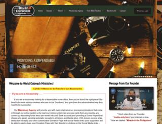 worldoutreach.org screenshot