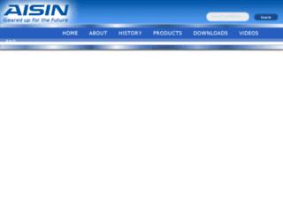 worldpac.aisinaftermarket.com screenshot