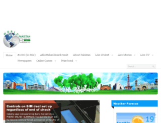 worldpakistan.com screenshot