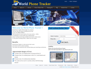 worldphonetracker.com screenshot