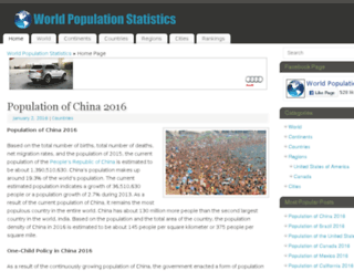 worldpopulationstatistics.com screenshot