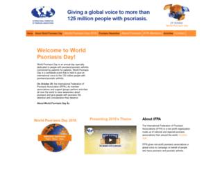 worldpsoriasisday.com screenshot