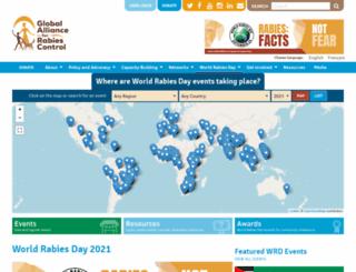 worldrabiesday.org screenshot