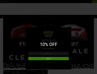 worldrugbyshop.com screenshot