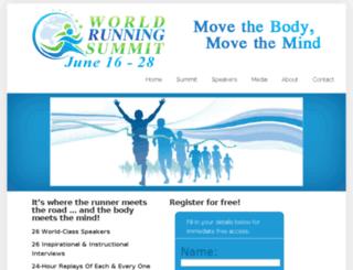 worldrunningsummit.com screenshot