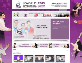 worlds2013.ca screenshot