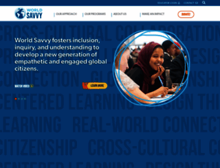 worldsavvy.org screenshot