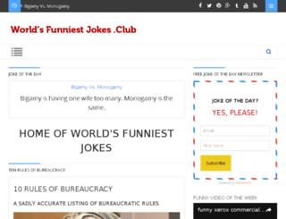 worldsfunniestjokes.club screenshot