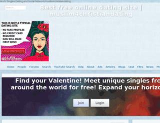 worldsingles4love.com screenshot