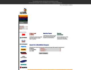 worldskillsportal.com screenshot
